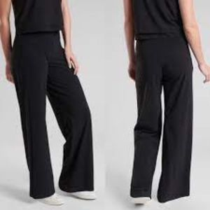 Athleta Flawed Meridian Wide Leg Travel Pants